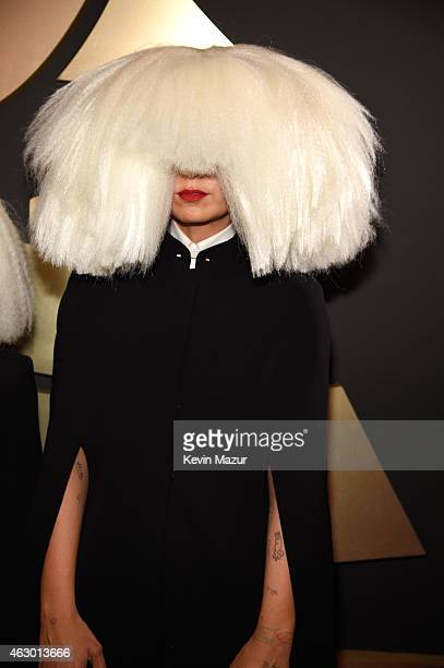 Sia attends The 57th Annual GRAMMY Awards at the STAPLES Center on February 8 2015 in Los Angeles California