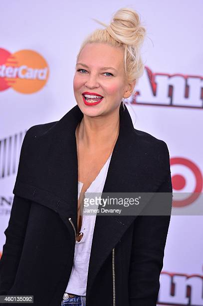 Sia attends the 'Annie' World Premiere at Ziegfeld Theater on December 7 2014 in New York City