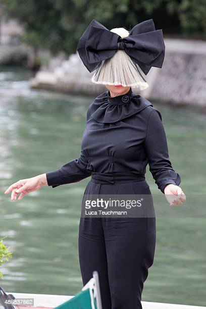 Sia is seen during the 72nd Venice Film Festival on on September 5 2015 in Venice Italy