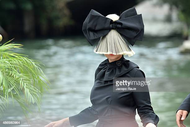 Sia is seen during the 72nd Venice Film Festival on September 5 2015 in Venice Italy