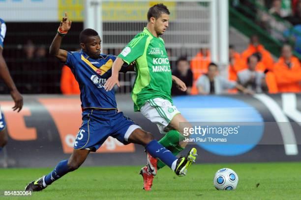 Siaka TIENE / Kevin MIRALLAS Saint Etienne / Valenciennes 38e journee Ligue 1