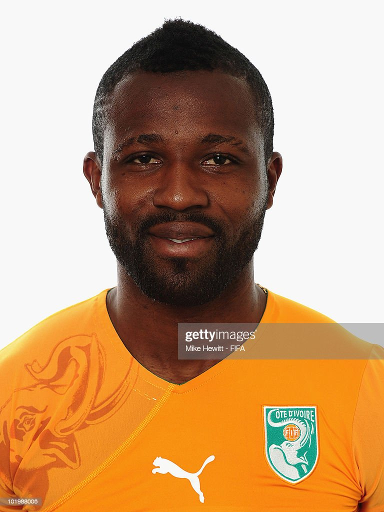 <a gi-track='captionPersonalityLinkClicked' href=/galleries/search?phrase=Siaka+Tiene&family=editorial&specificpeople=788647 ng-click='$event.stopPropagation()'>Siaka Tiene</a> of Ivory Coast poses for a portrait during the 2010 FIFA World Cup on June 11, 2010 in Vanderbijlpark, South Africa.
