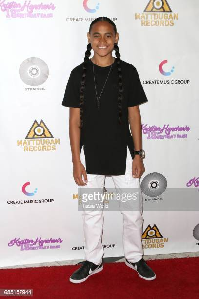 Siaki attends social media star Kristen Hancher's Big 18th Birthday Bash at Bootsy Bellows on May 18 2017 in West Hollywood California