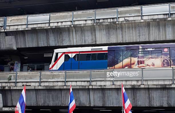 Siam BTS Skytrain underground station