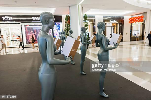 Siam Square, Siam Paragon Shopping Mall, presentation of Vogue Thailand