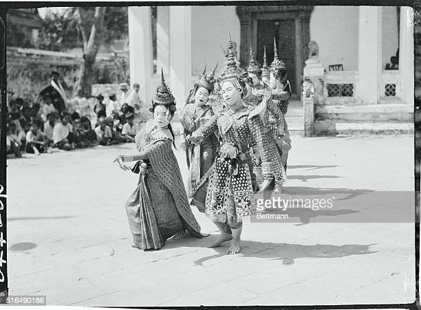 Siamese Royal Dancing Ballet Siam In far away Siam the land of a thousand wats there reigns one of the two absolute monarchs of the world The court...