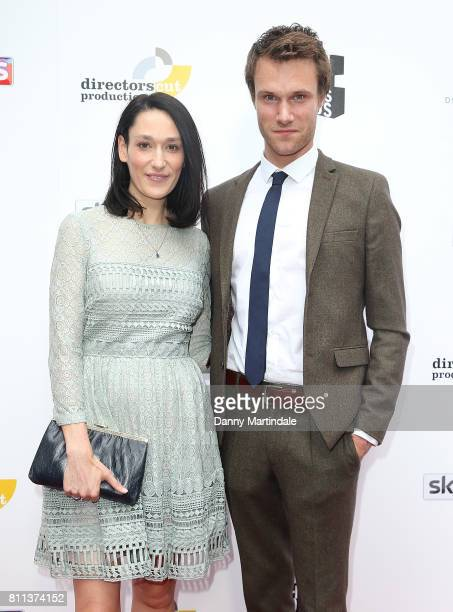 Sian Clifford and Hugh Skinner attending The Southbank Sky Arts Awards 2017 at The Savoy Hotel on July 9 2017 in London England