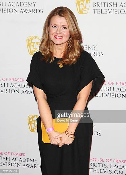 Sian Gibson attends the House of Fraser British Academy Television and Craft nominees party at Mondrian London on April 21 2016 in London England