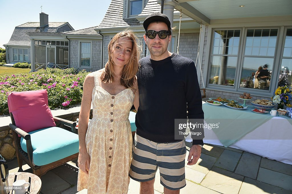 Sian Hedder and Zachary Quinto attend the Mentors Brunch during the 2016 Nantucket Film Festival Day 4 on June 25, 2016 in Nantucket, Massachusetts.