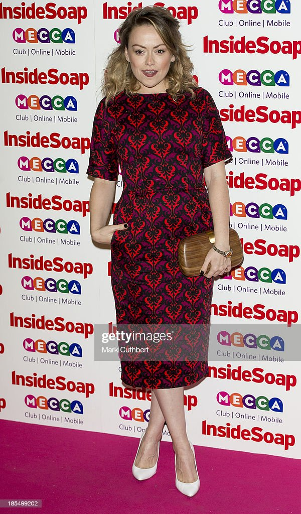 Sian Reese-Williams attends the Inside Soap Awards at Ministry Of Sound on October 21, 2013 in London, England.