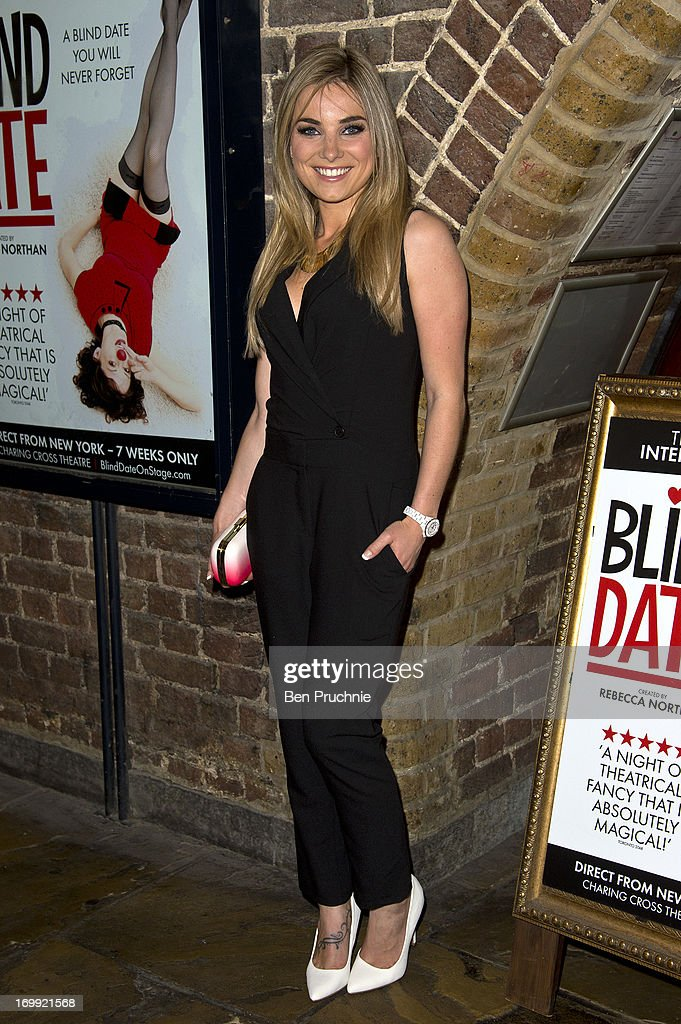 Sian Welby attends the press night of 'Blind Date' at Charing Cross Theatre on June 4, 2013 in London, England.