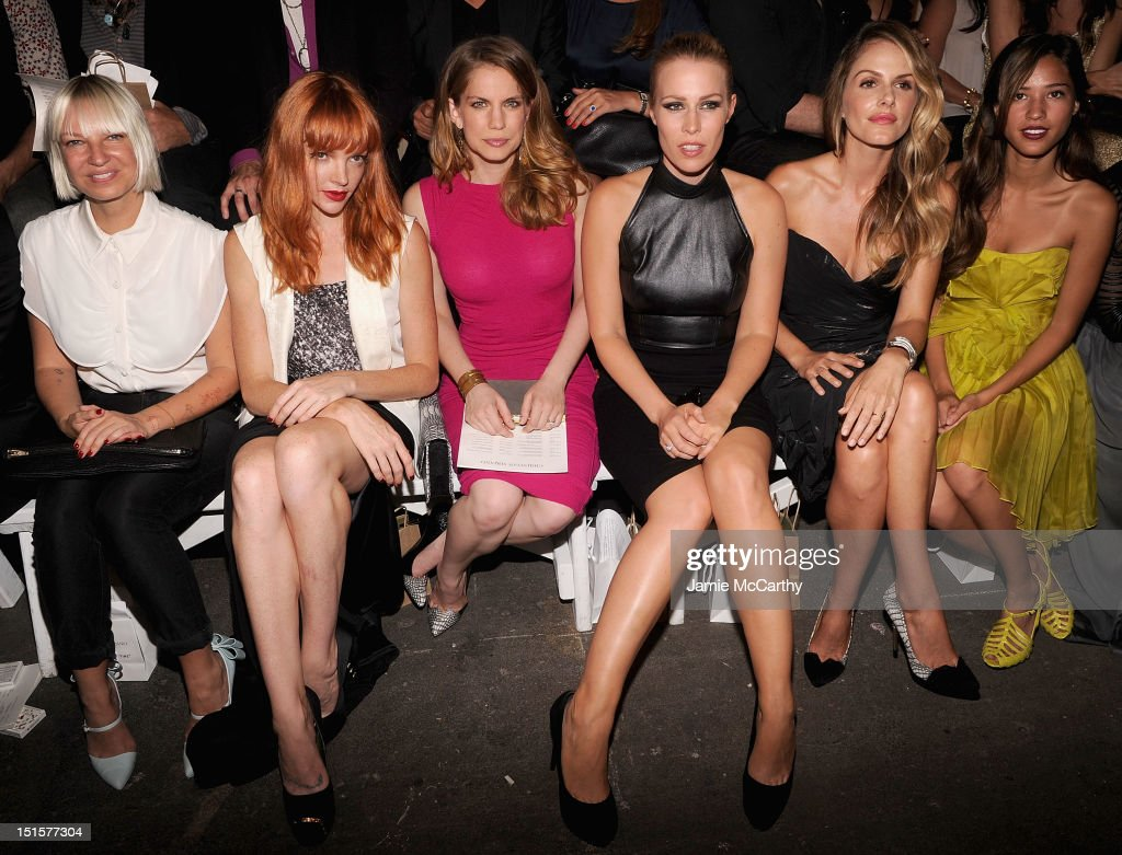 Christian Siriano - Front Row & Backstage - Spring 2013 Mercedes-Benz Fashion Week
