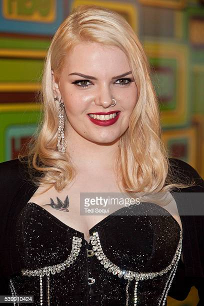 Sianoa SmitMcPhee at the HBO after party for the 68th Golden Globes Awards held at the Beverly Hilton Hotel in Beverly Hills