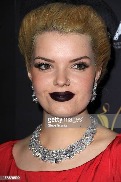 Sianoa SmitMcPhee attends the 2012 Australian Academy Of Cinema And Television Arts Awardsat Soho House on January 27 2012 in West Hollywood...
