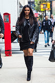 Siara is seen heading to Barneys New York on October 13 2015 in New York City