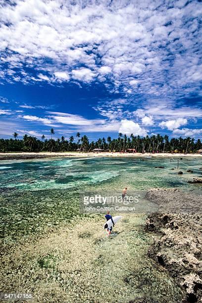 Siargao Island, surfers