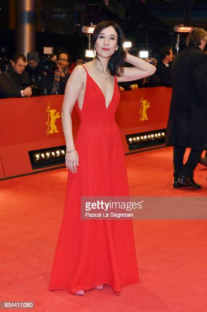 Sibel Kekilli attends the 'Django' premiere during the 67th Berlinale International Film Festival Berlin at Berlinale Palace on February 9 2017 in...