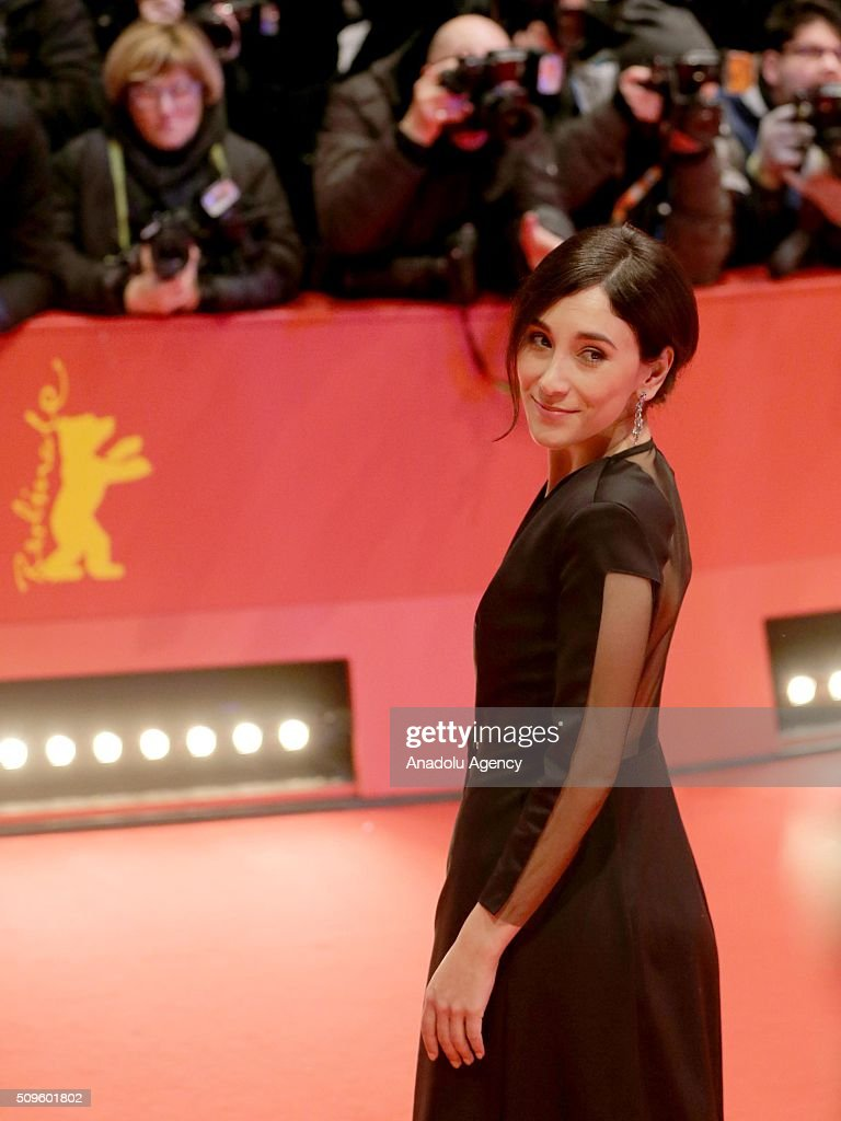 Sibel Kekilli attends the 'Hail, Caesar!' premiere during the 66th Berlinale International Film Festival Berlin at Berlinale Palace in Berlin, Germany on February 11, 2016.