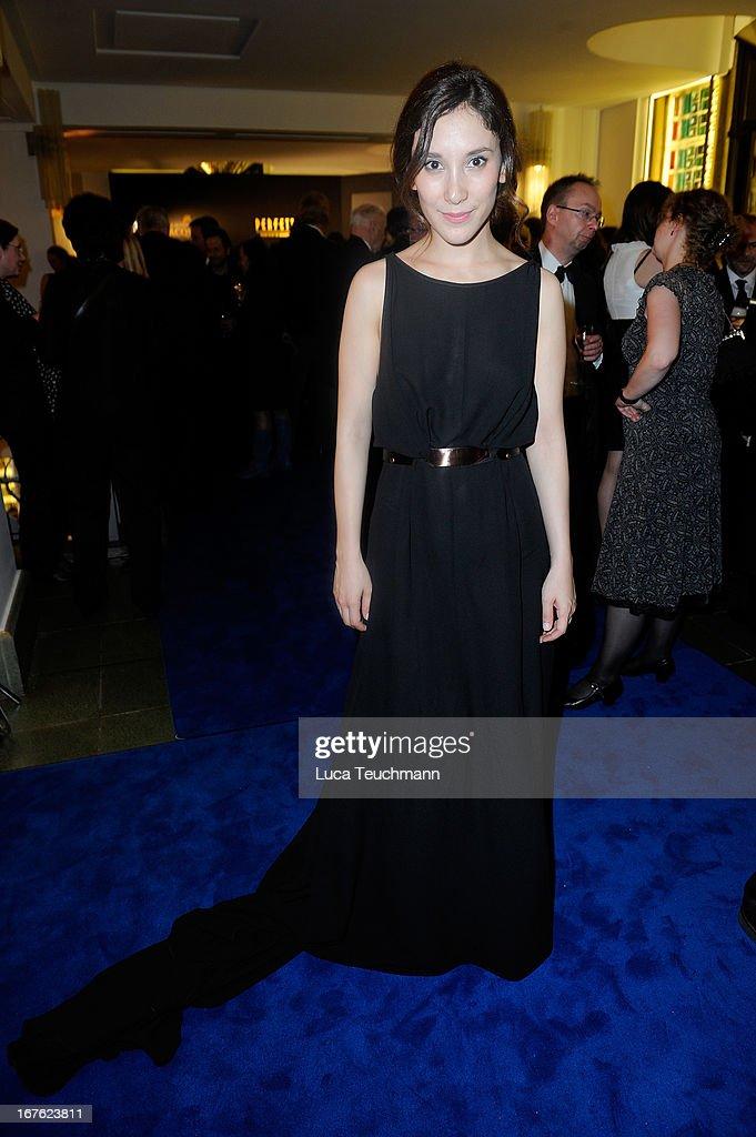 Sibel Kekilli attends the Lola - German Film Award 2013 - Party at Friedrichstadt-Palast on April 26, 2013 in Berlin, Germany.
