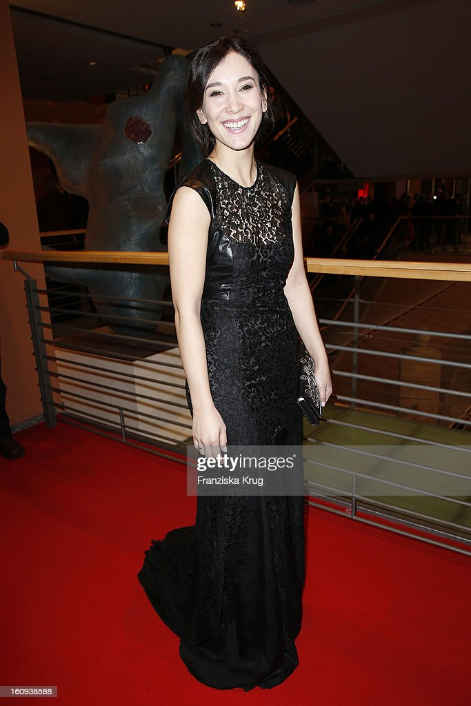 Sibel Kekilli attends the 'Opening Party - 63rd Berlinale International Film Festival' at the 63rd Berlinale International Film Festival at the Berlinale Palast on February 7, 2013 in Berlin, Germany.