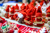 Sibiu, Romania - Winter decoration Christmas Market, largest in Romania, Transylvania landmark.