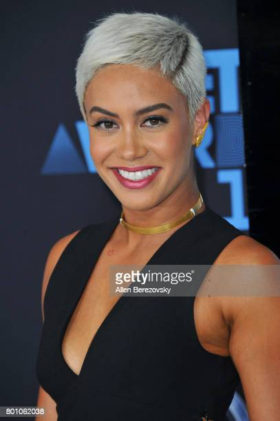 Sibley Scoles arrives at the 2017 BET Awards at Microsoft Theater on June 25 2017 in Los Angeles California
