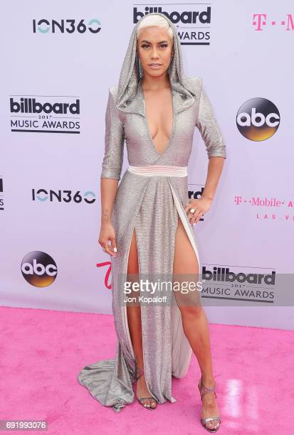 Sibley Scoles arrives at the 2017 Billboard Music Awards at TMobile Arena on May 21 2017 in Las Vegas Nevada