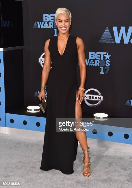Sibley Scoles at the 2017 BET Awards at Microsoft Square on June 25 2017 in Los Angeles California
