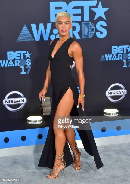 Sibley Scoles attends the 2017 BET Awards at Microsoft Theater on June 25 2017 in Los Angeles California