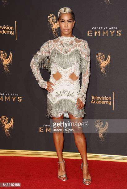 Sibley Scoles attends the 2017 Creative Arts Emmy Awards at Microsoft Theater on September 10 2017 in Los Angeles California