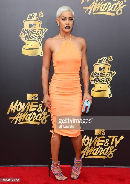 Sibley Scoles attends the 2017 MTV Movie and TV Awards at The Shrine Auditorium on May 7 2017 in Los Angeles California