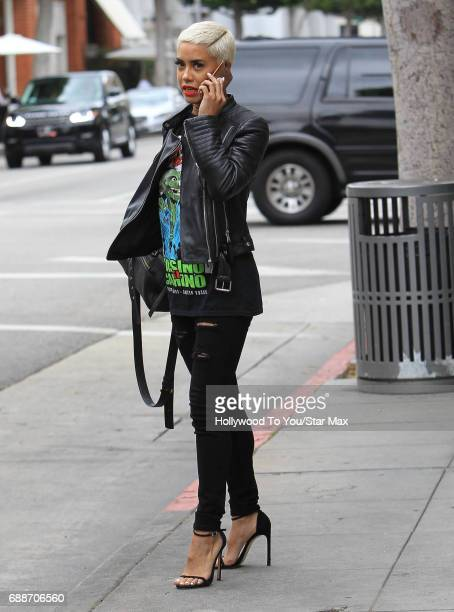 Sibley Scoles is seen on May 25 2017 in Los Angeles CA