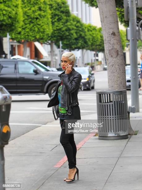 Sibley Scoles is seen on May 25 2017 in Los Angeles California