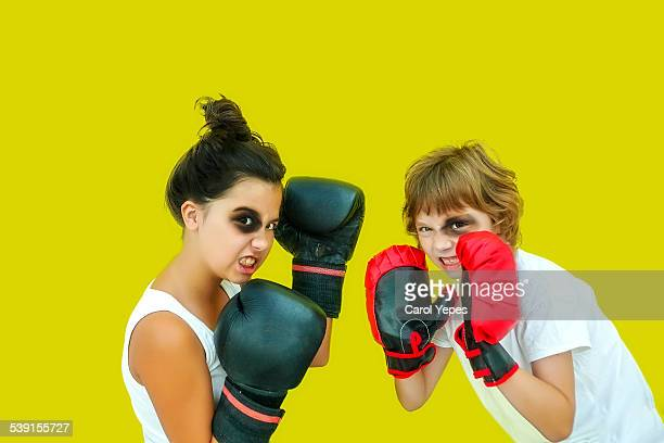 Sibling boxing