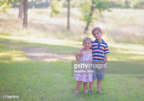 Sibling love : Stock Photo