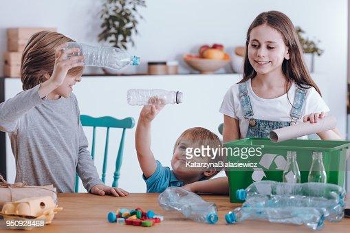 Siblings having fun : Stock Photo