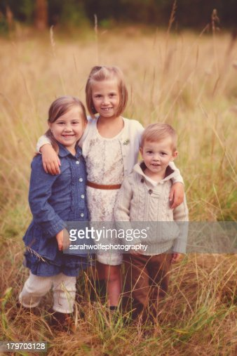 siblings : Stock Photo