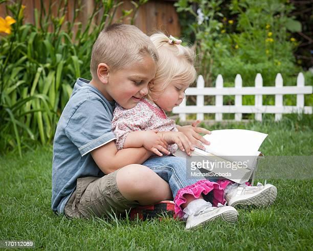Siblings Reading