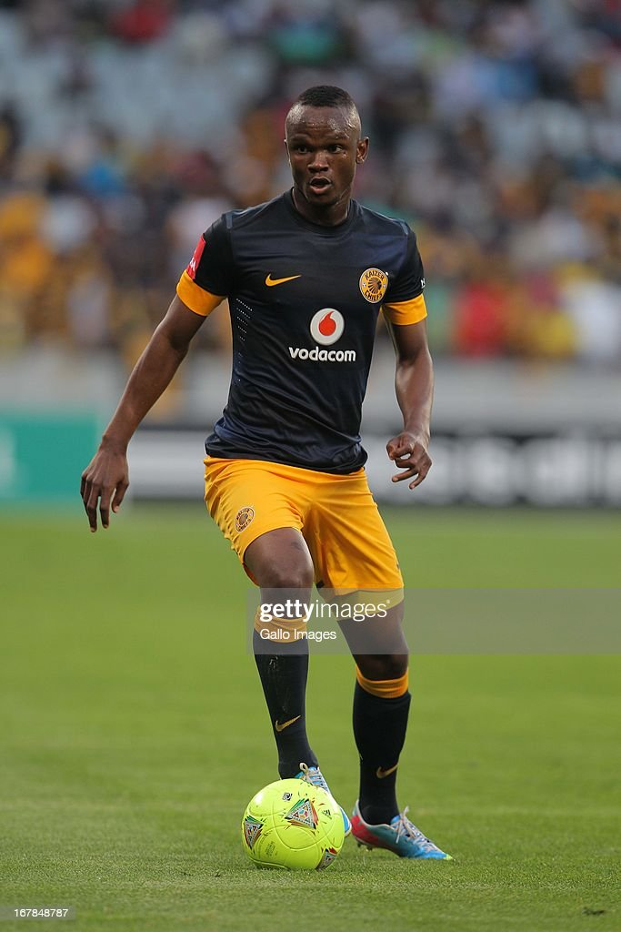 Siboniso Gaxa of Kaizer Chiefs during the Absa Premiership match between Ajax Cape Town and Kaizer Chiefs at Cape Town Stadium on May 01 2013 in Cape...