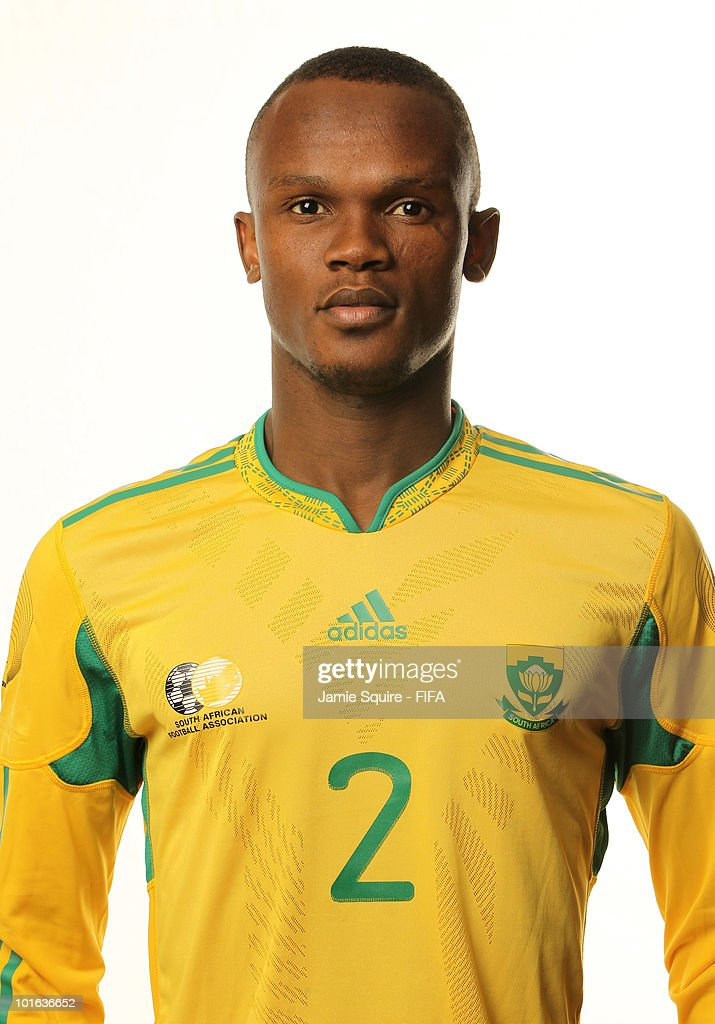 Siboniso Gaxa of South Africa poses during the official FIFA World Cup 2010 portrait session on June 4 2010 in Johannesburg South Africa