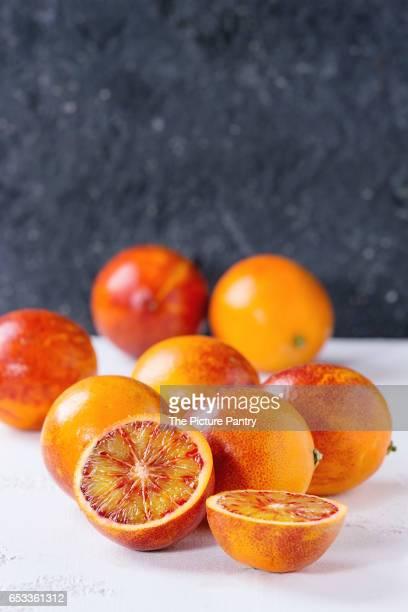 Sicilian Blood oranges fruits