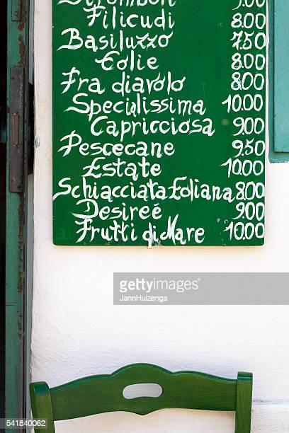 Sizilianische Küche : Die heutige Auswahl an rustikalen Tafel