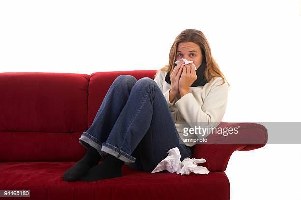 Krank weibliche