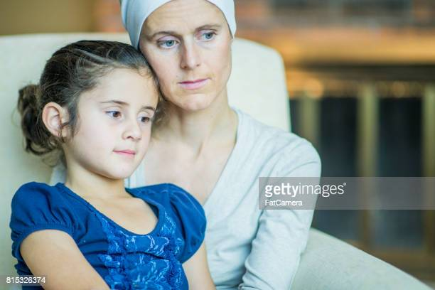 Sick Mom and Her Daughter