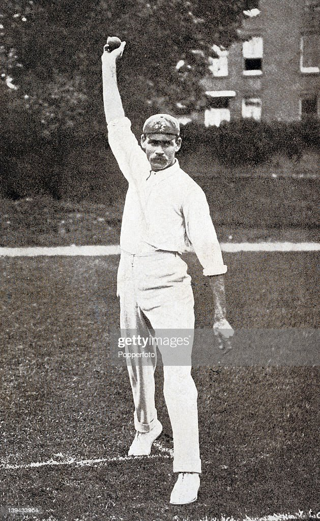 Sid Barnes Lancashire and England cricket team circa 1901