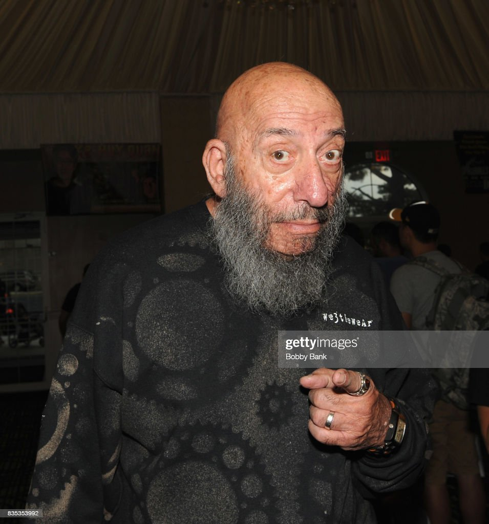 Sid Haig attends the Monster Mania Con 2017 at NJ Crowne Plaza Hotel on August 18, 2017 in Cherry Hill, New Jersey.