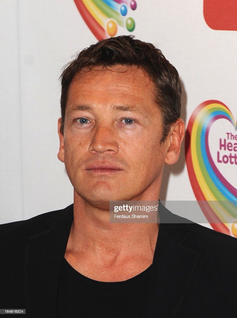 Sid Owen attends a fundraising event in aid of The Health Lottery hosted by Simon Cowell at Claridges Hotel on March 28, 2013 in London, England.