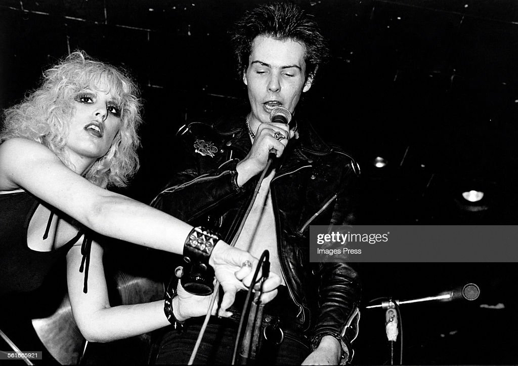 Sid Vicious and Nancy Spungen circa 1978 in New York City.