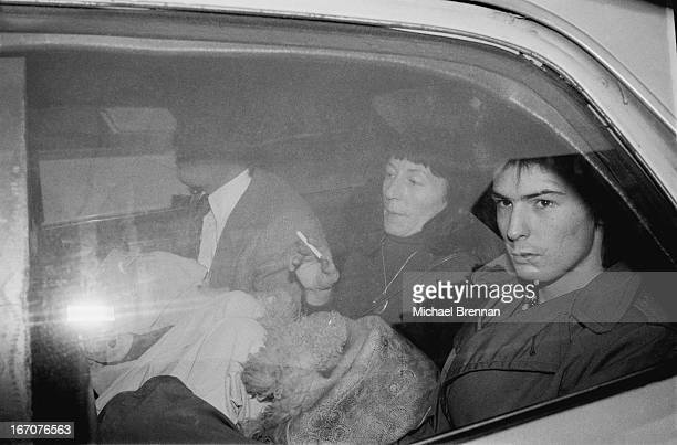 Sid Vicious at Manhattan Criminal Court for the trial of the murder of Nancy Spungen 18th October 1978