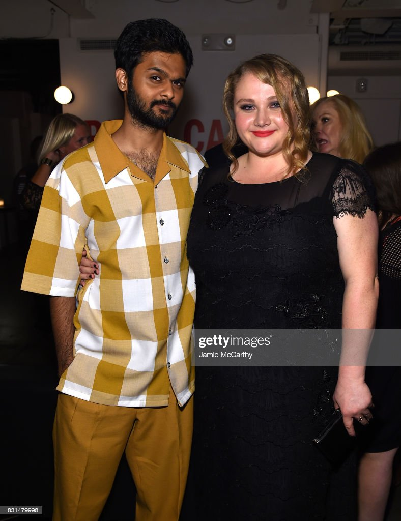 Mamoudou Athie and Danielle Macdonald attend 'Patti Cake$' New York After Party at The Metrograph on August 14, 2017 in New York City.